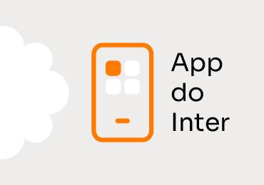 O que dá pra fazer usando o aplicativo do Inter?