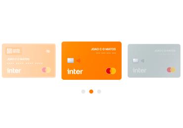 Inter lança cartão virtual, limite investido e Google Pay