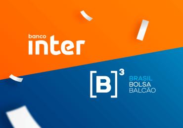 Banco Inter: no celular e na Bolsa