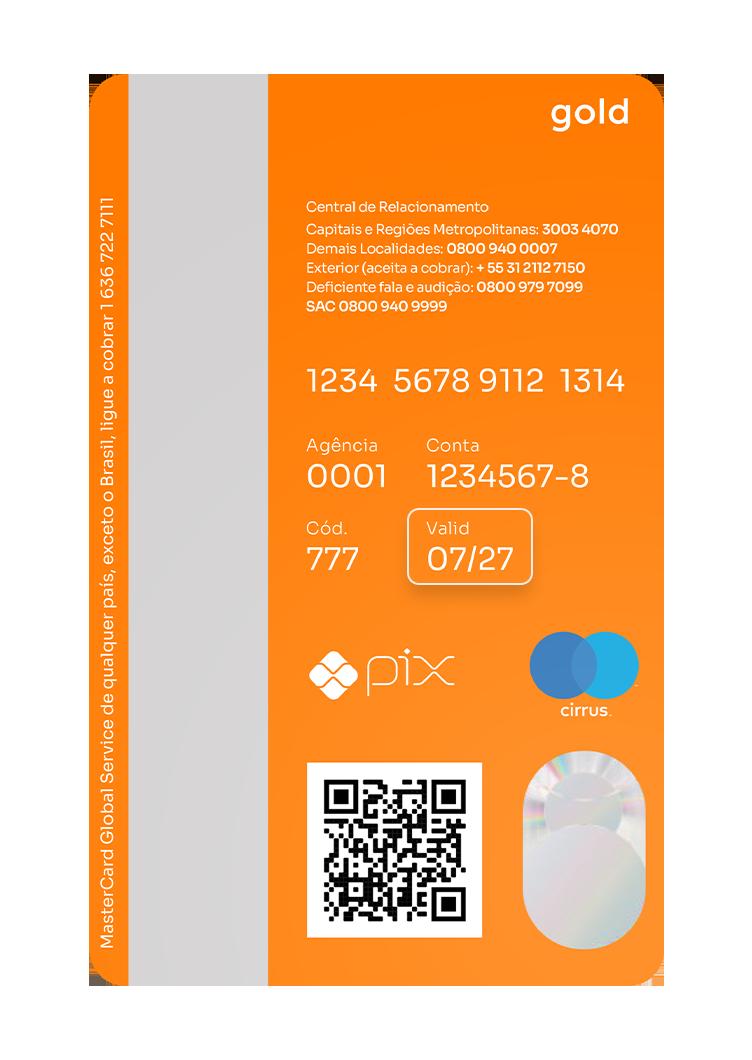 Data de validade do cartão de crédito Inter