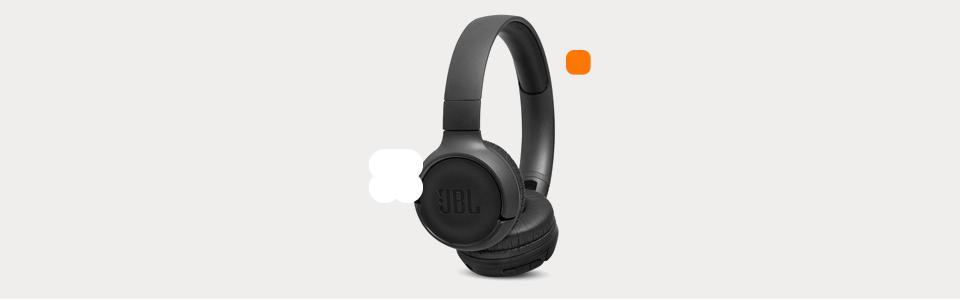 Headphone Bluetooth T500BT JBL – Preto