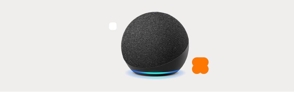 Smart Speaker Amazon Echo Dot 4ª Geração com Alexa – Preto