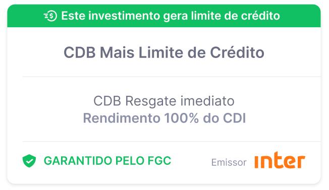 CDB Limite Investido