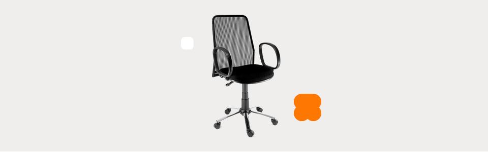 Cadeira Furniture Fusion com Regulagem de Altura